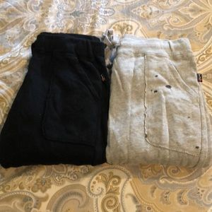 2 pairs of T2 Love joggers